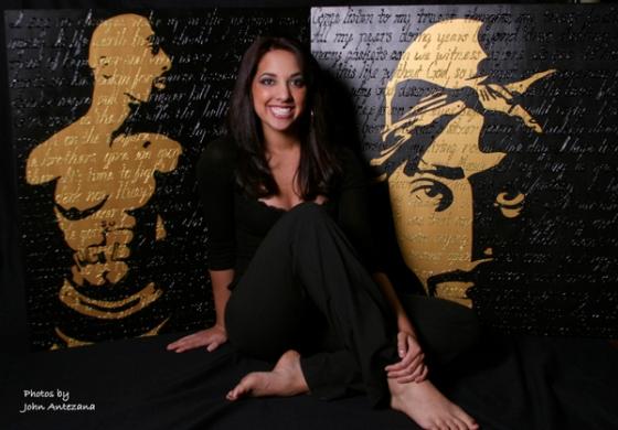 Artist Tonia Calderon and her portraits of Tupac