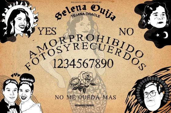 Selena Ouija — Tejana Oracle